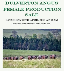 2018 Female Production Sale