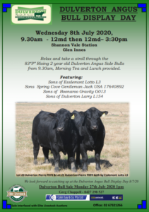 2020 Bull Sale Open Day